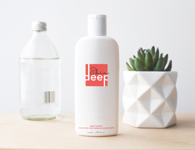 Skin Deep packaging design